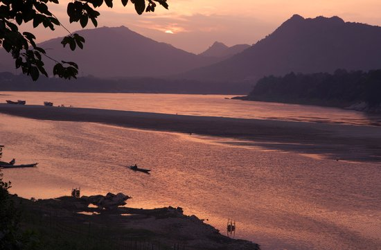 Mekong Estate: Sunset over Mekong