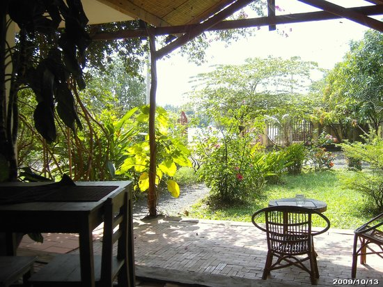 Hang Guesthouse: The gardens
