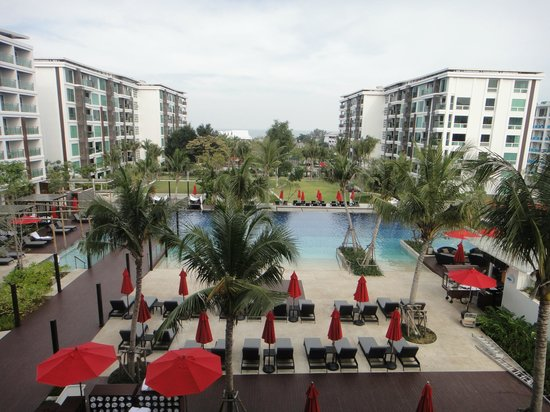 Amari Hua Hin: Pool view from the balcony