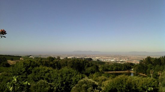 Zevenwacht Country Inn : View of Cape Town