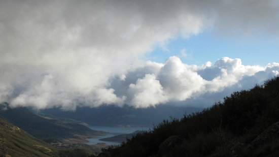 Penon Blanco Lookout: Rain has stopped