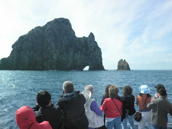 Fullers GreatSights Bay of Islands Day Tours: Hole in the Wall