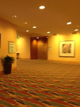 San Jose Marriott: conference room lobby
