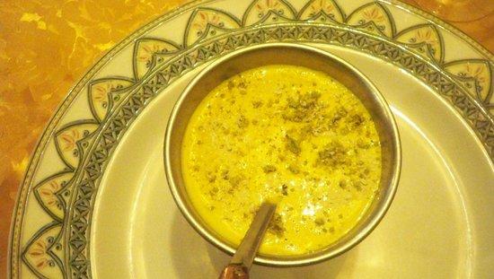 Ristorante Indiano Bombay: dolce: crema di riso al pistacchio