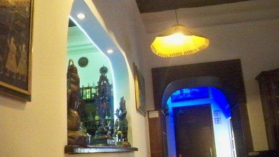 Ristorante Indiano Bombay: arredo