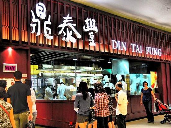 Din Tai Fung Pavilion KL: Long Queue