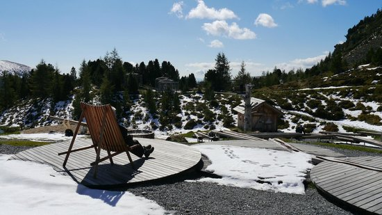 Hotel Kornock: Play area on the mountain