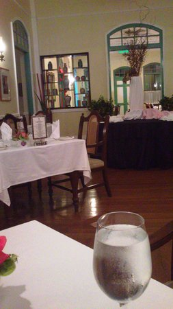 The Mansion : during dinner