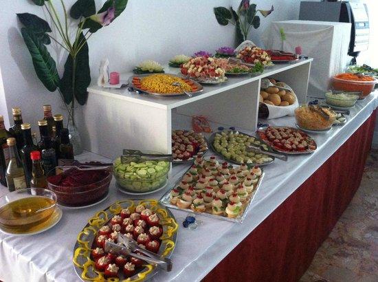 Hotel Carinthia: il buffet