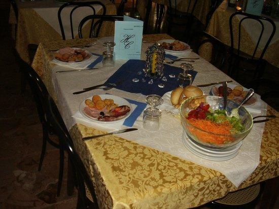 Hotel Carinthia: Il nostro tavolo
