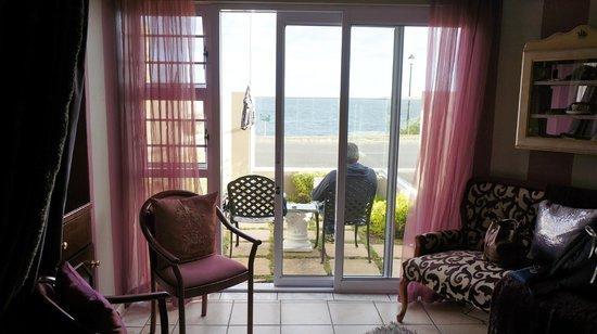 Hermanus Guesthouse: nice terrasse
