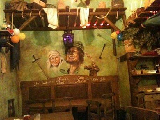 La Locanda di Robin Hood : Interni