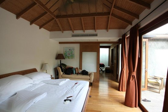 Tango Luxe Beach Villa: La chambre (Junior Suite Pool)
