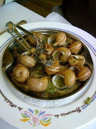La Brasserie de La Mediterranee: Escargot