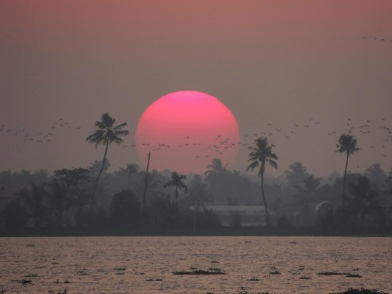 Xandari Riverscapes: sunset