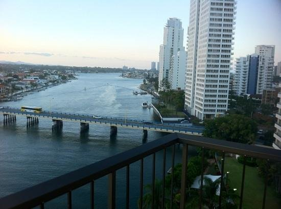 Vibe Hotel Gold Coast: view from our balcony