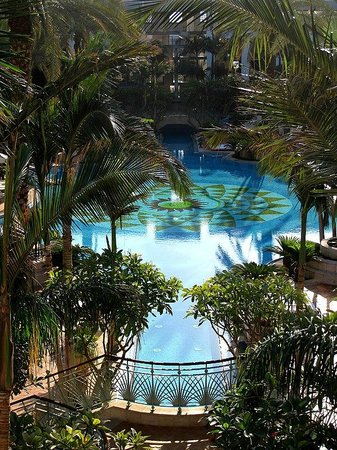 Isrotel Agamim: View on the pool.