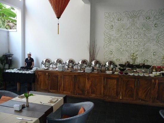 The Plantation Urban Resort and Spa: petit déjeuner buffet