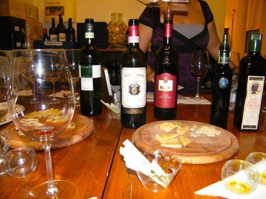 Florence Tasting: Wine Tasting at Obsequim in Florence