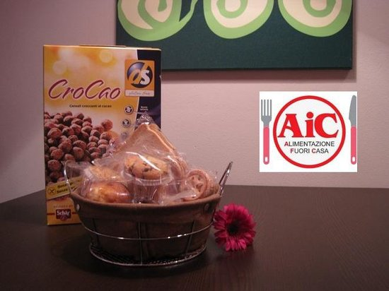 Bigatt B&B : Gluten free breakfast, Bigatt is constantly inspected by AIC