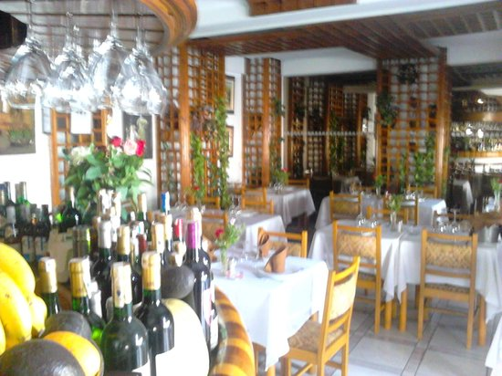 Restaurant Scampi : inside