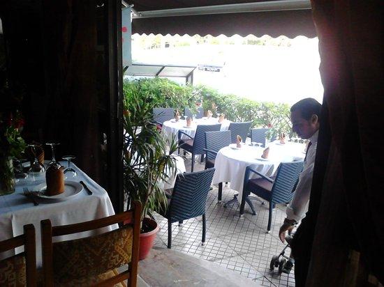 Restaurant Scampi : terrace view