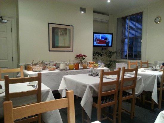 Staunton Hotel: Dining area