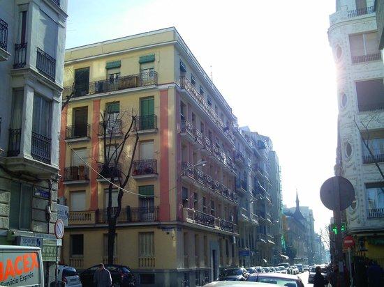 Calle Princesa : Arquitectura en calles perpendiculares a Princesa