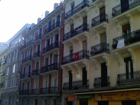 Calle Princesa : Fachadas en calles perpendiculares a Princesa