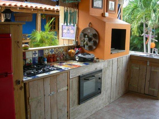 Casa Calexico: cucina all'aperto