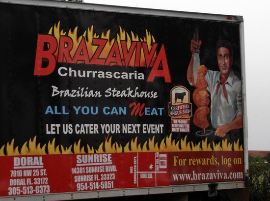 Brazaviva Churrascaria: Good meat and salad bar