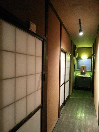 Guest House Asobigokoro : Way to western toilet