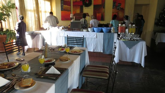 Floreat Riverside Lodge: Breakfast Area
