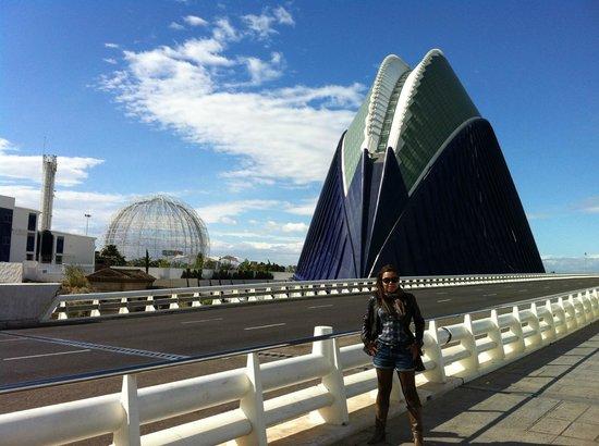 Segway Valencia Castellon Tour: Cidade da Artes e Ciêcias de Valencia-ES, vista de fora