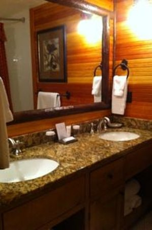 The Whiteface Lodge: bathroom