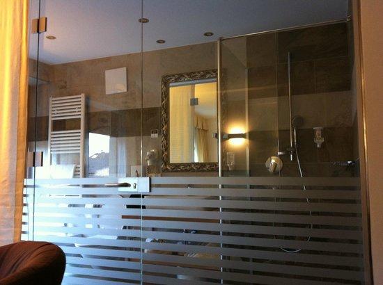 Hotel Leitner: Bagno della camera