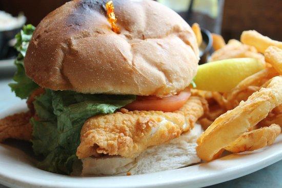 Westbrook Lobster : Fried Cod Sandwich