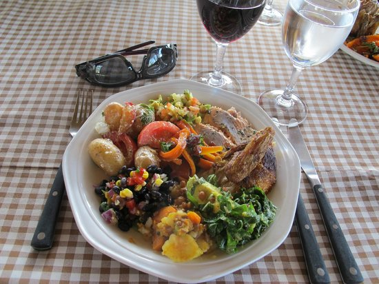 andBeyond Ngala Safari Lodge: I love a fresh salad