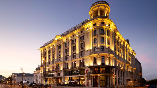 Beautiful Historic Setting Review Of Hotel Bristol A Luxury Collection Warsaw Tripadvisor