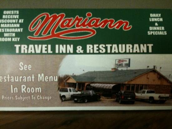 Mariann Travel Inn : hotel restaurant