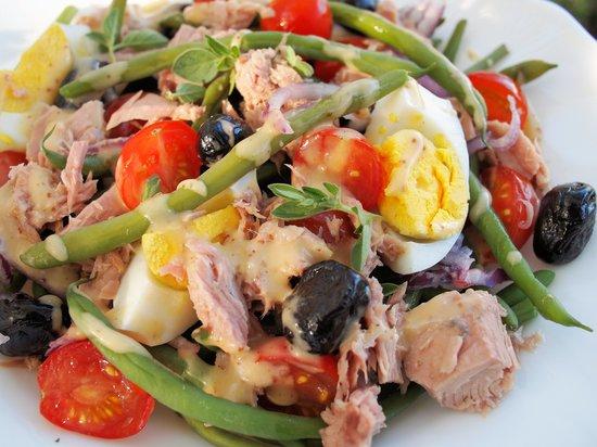 Sunlight and Moonlight: salad