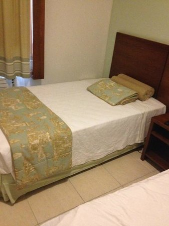 Copacabana Suites by Atlantica: this is the bed I didn't use. At least the beds are comfortable