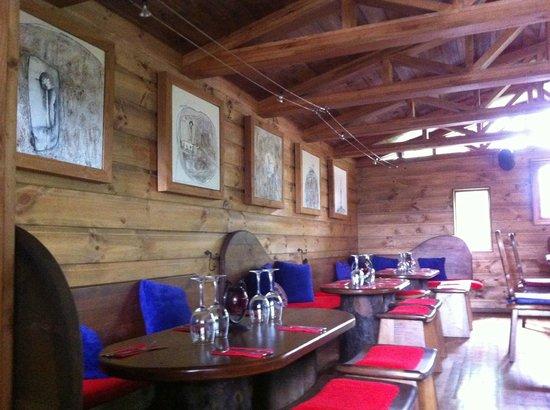 Aldea Naukana Posada Boutique: restaurant