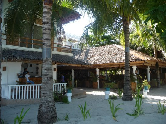 Malapascua Exotic Island Dive & Beach Resort:                                     Reception - restaurant
