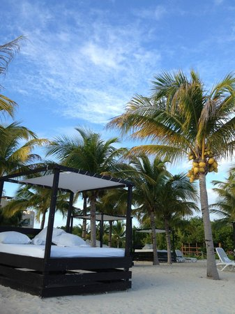 Hacienda Tres Rios: Beach bed!