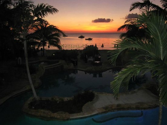 Sandals Negril Beach Resort & Spa: view from room 6220, Penthouse Beachfront Suite