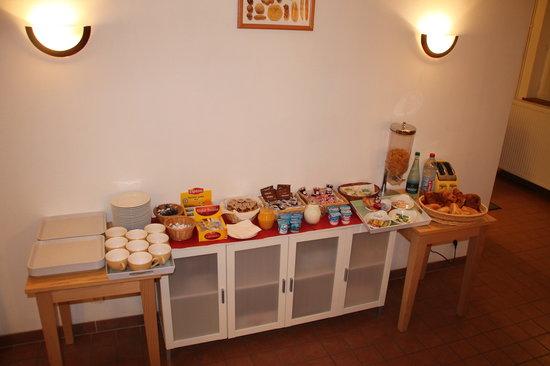 Hotel De L'Image : le petit dejeuner