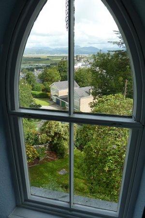 Pen Y Garth: View from the top floor window