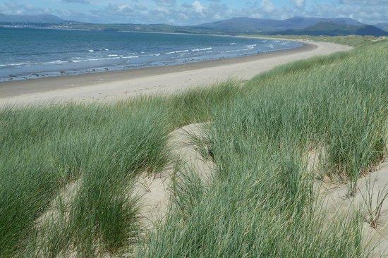 Pen Y Garth: The beach