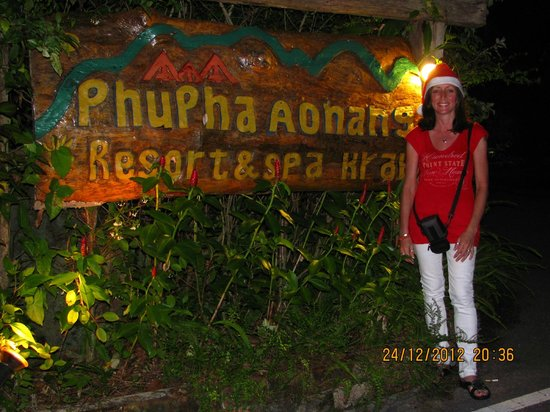 Phu Pha Ao Nang Resort and Spa: Entrance